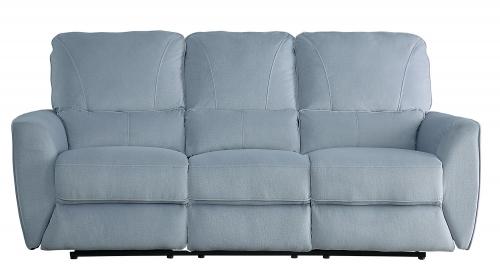 Dowling Double Reclining Sofa - Light Gray