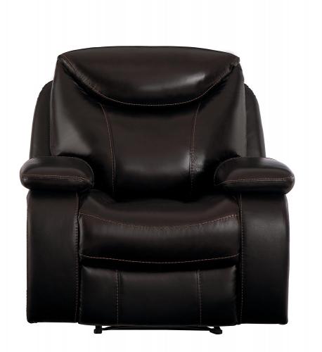Verkin Reclining Chair - Dark Brown