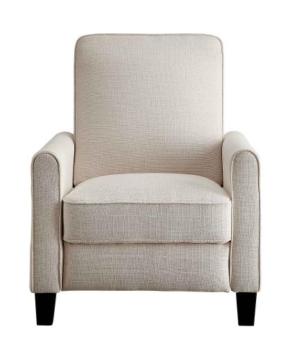 Darcel Push Back Reclining Chair - Beige