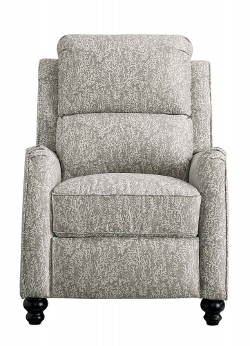 Howth Push Back Reclining Chair - Brown/Beige