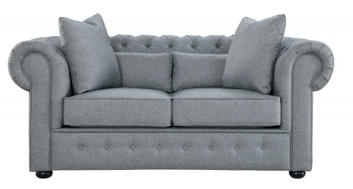 Savonburg Love Seat - Gray