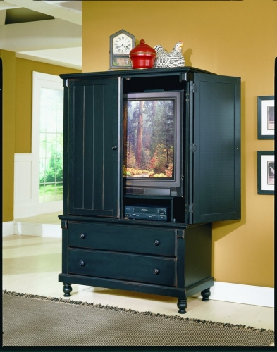 Pottery Armoire Black