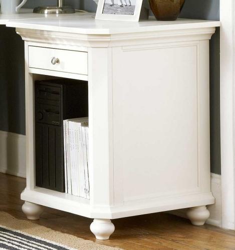 Hanna CPU Cabinet 1 Drawer White