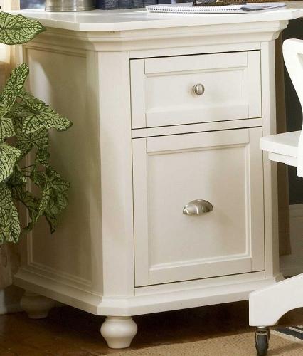 Hanna 2-Drawer Cabinet White