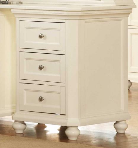 Hanna 3-Drawer Cabinet White