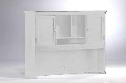 Homelegance Hanna Hutch Bookshelf White