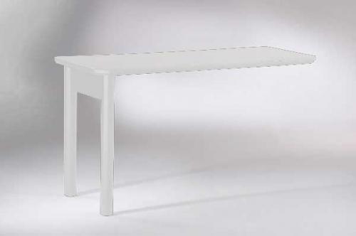 Homelegance Hanna Desk Top with Leg White