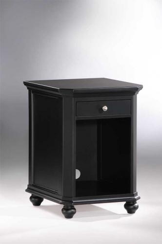 Hanna CPU Cabinet 1 Drawer Black