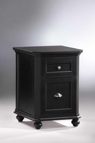 Hanna 2-Drawer Cabinet Black