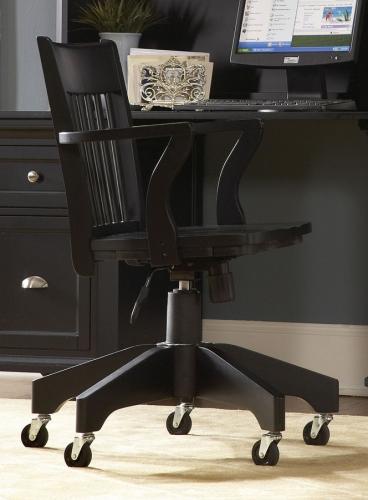 Hanna Swivel Chair Black