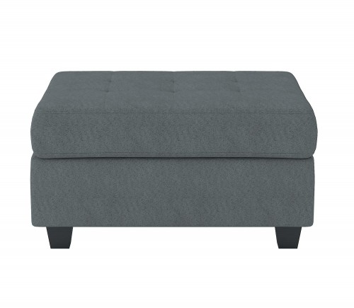 Maston Storage Ottoman - Dark gray