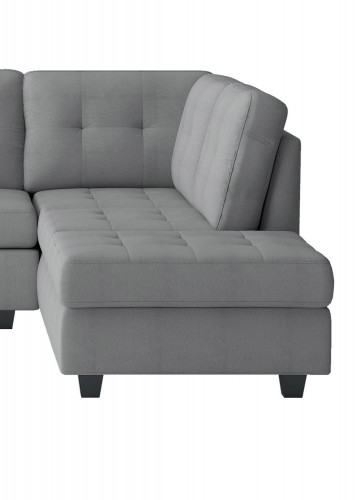 Maston Reversible Chaise, Left/Right Unit - Light gray