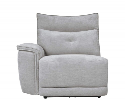 Homelegance Tesoro Left Side Reclining Chair - Mist Gray