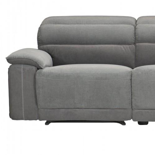 Ember Left Side Reclining Chair - Dark Gray