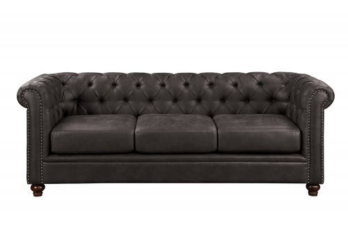 Wallstone Sofa - Brown
