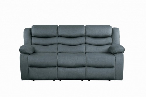 Discus Double Reclining Sofa - Gray