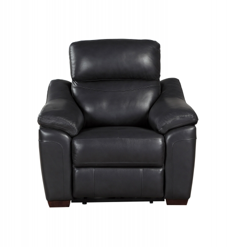 Renzo Power Reclining Chair - Dark Gray