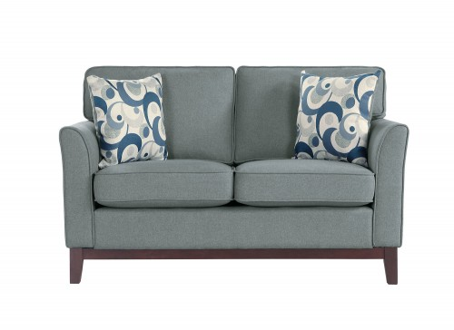 Blue Lake Love Seat - Gray