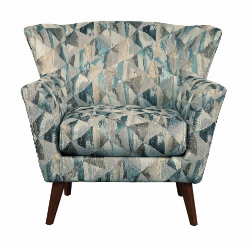 Maja Accent Chair - Gray/teal