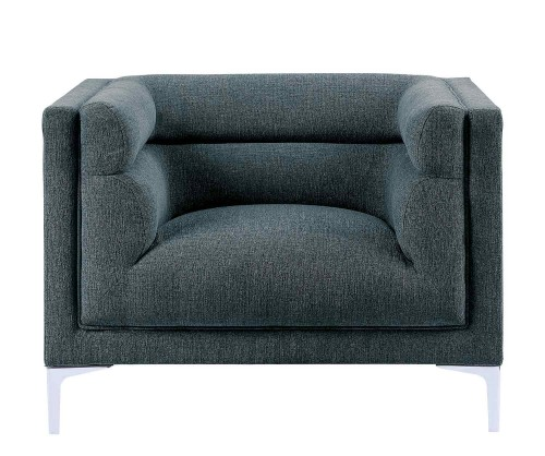 Vernice Chair - Dark blue gray