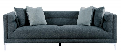 Vernice Sofa - Dark blue gray