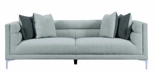 Vernice Sofa - Light fog gray
