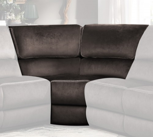 Bronagh Corner Seat - Chocolate