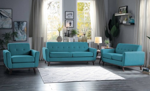 Rittman Sofa Set - Blue
