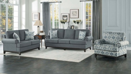 Beacon Sofa Set - Gray