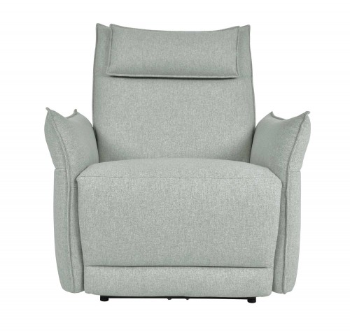Linette Power Reclining Chair with Power Headrest - Ocean