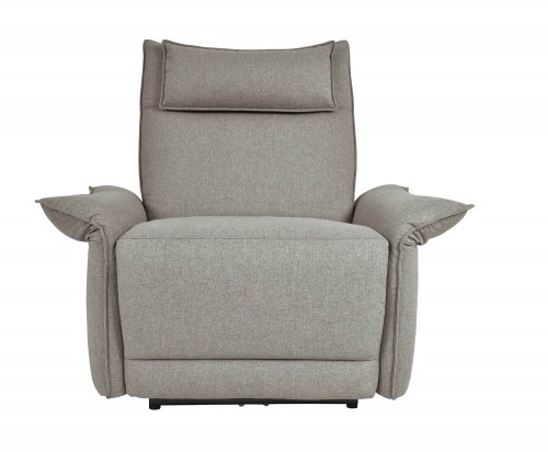 Linette Power Reclining Chair with Power Headrest - Taupe