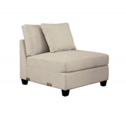 Southgate Armless Chair - Ivory