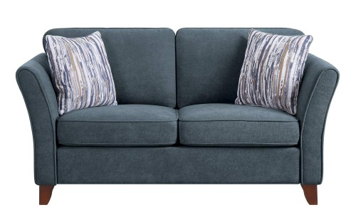 Barberton Love Seat - Dark gray