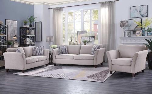 Barberton Sofa Set - Mushroom
