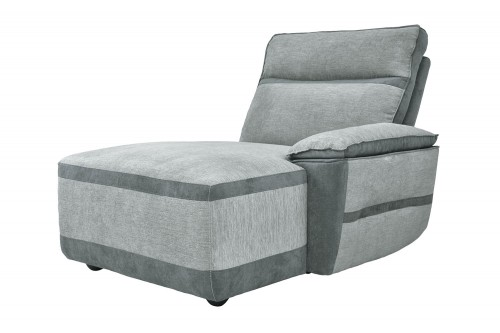 Hedera Right Side Chaise - Gray