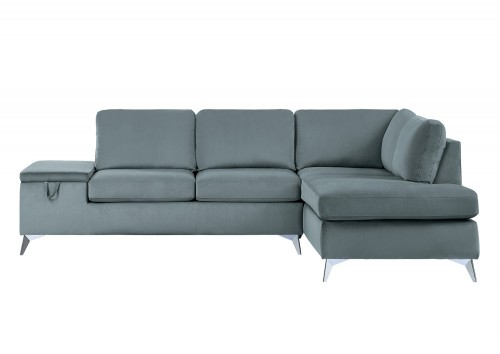 Radnor Sectional Sofa Set - Gray