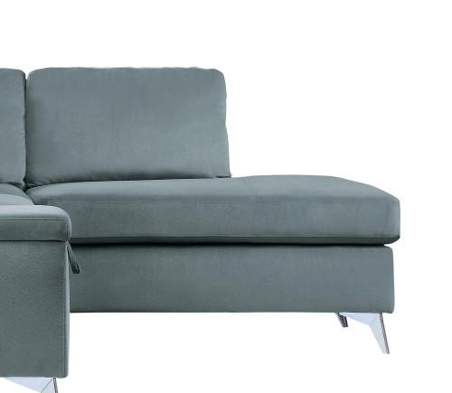 Radnor Reversible Chaise, Left/Right Unit - Gray