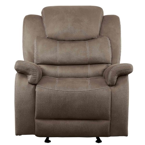 Shola Glider Reclining Chair - Brown