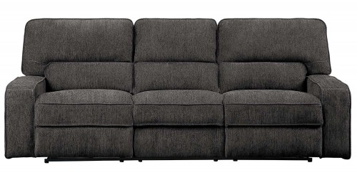 Borneo Double Reclining Sofa - Chocolate