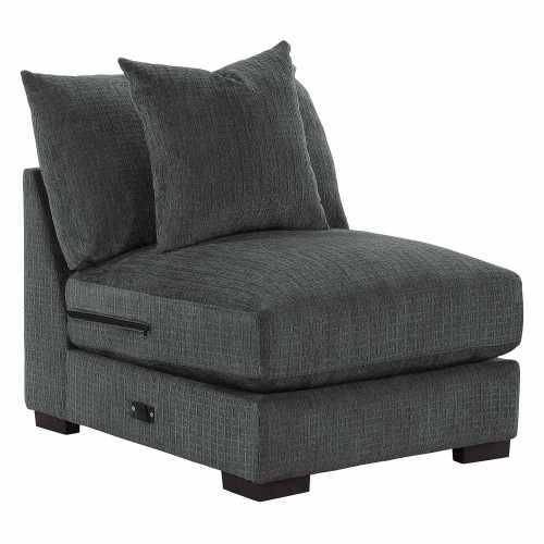 Worchester Armless Chair - Dark gray