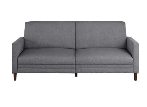Layanna Click Clack Sofa - Gray