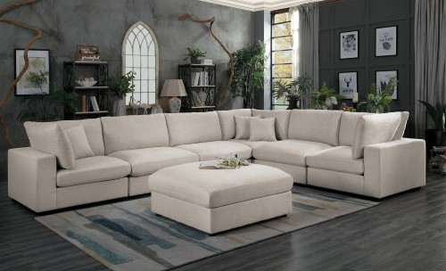 Admirable Homelegance Casoria Sectional Sofa Set Neutral Bralicious Painted Fabric Chair Ideas Braliciousco