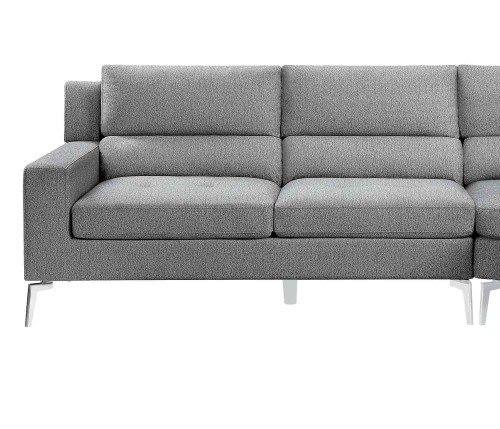 Bonita Left Side 2-Seater - Gray