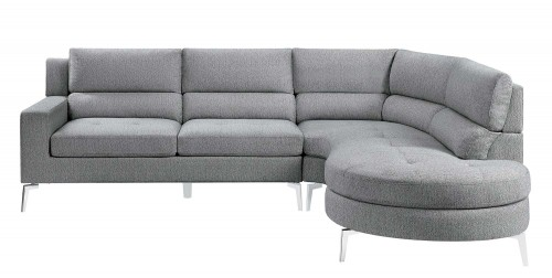 Bonita Sectional Sofa Set - Gray