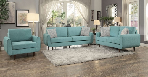Wrasse Sofa Set - Teal