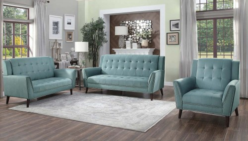 Broadview Sofa Set - Fog gray