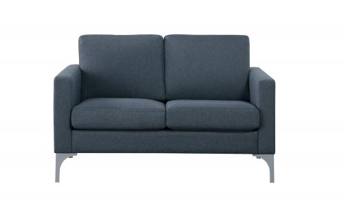 Soho Love Seat - Dark Gray - Brownish Gray