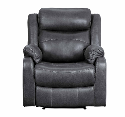 Yerba Lay Flat Reclining Chair - Dark Gray