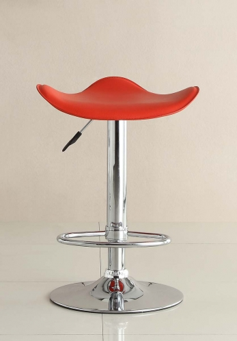 1146RED Ride Swivel Stool - Red