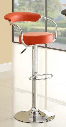 1149RED Ride Swivel Stool - Red
